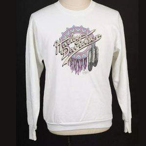 Vintage 1991 HARLEY DAVIDSON 3-D Emblem Sweatshirt